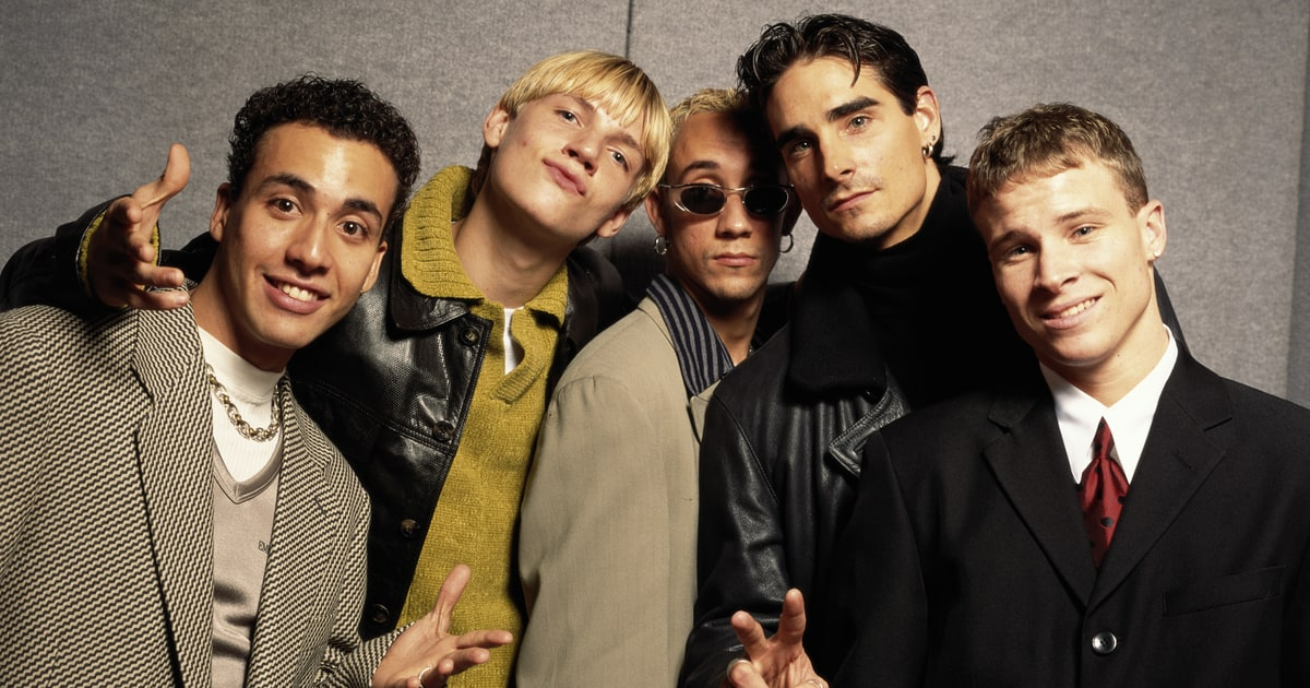 The Backstreet Boys, purveyors of excellent pre-choruses