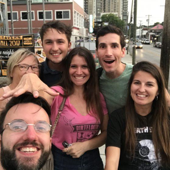 People I met in Nashville
