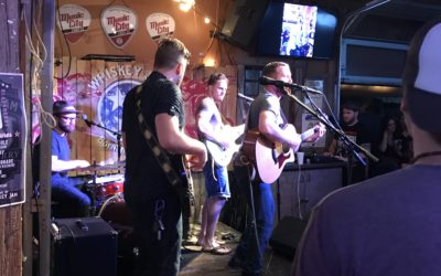 A band playing in Nashville