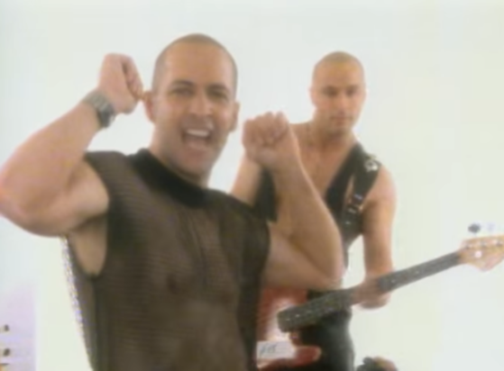 Right Said Fred's Fairbrass brothers, being too sexy