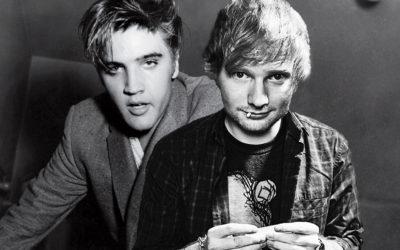 Ed Sheeran and Elvis, together at last